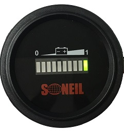 Round Battery Gauge SL-CBM-1272